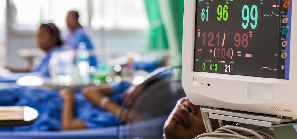 ICE room with Coronavirus patients